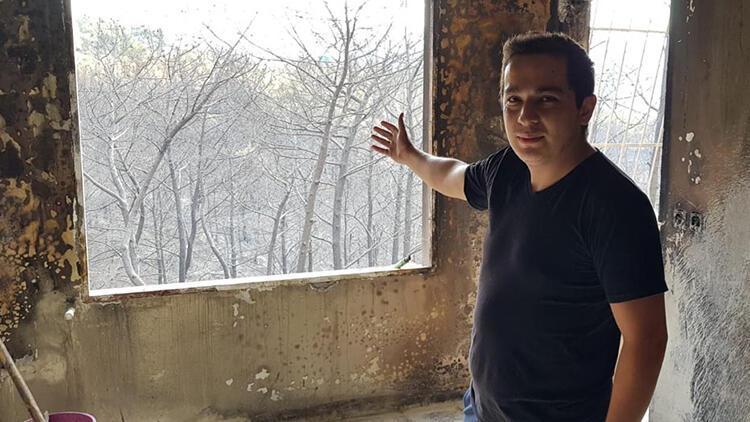Hatay'daki yangında mağdur olan vatandaşlardan tepki: Bunlar insan olamaz