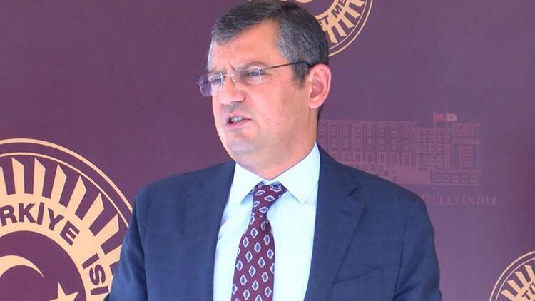CHP'li Özel: Hakimler, yargıçlar kararlarıyla konuşur