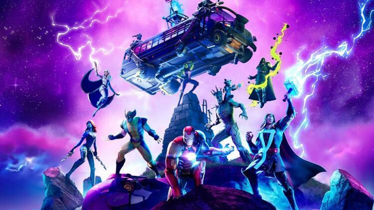 Fortnite Sezon 4 ve Marvel Knockout Super Series