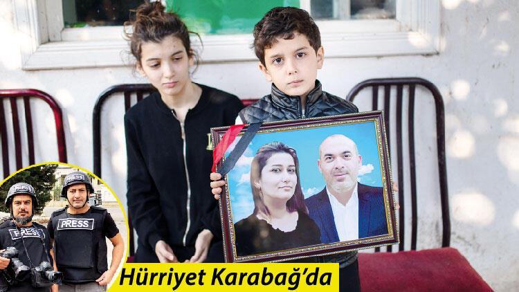 Sevil ve Hüseyin'in gözyaşları... Ermenistan füzesi ailesiz bıraktı