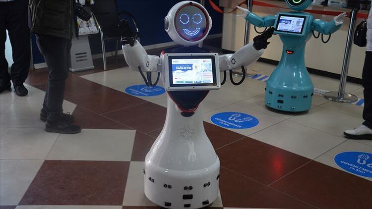 Robot ADA, Batman'da bir hastanede iş başı yaptı