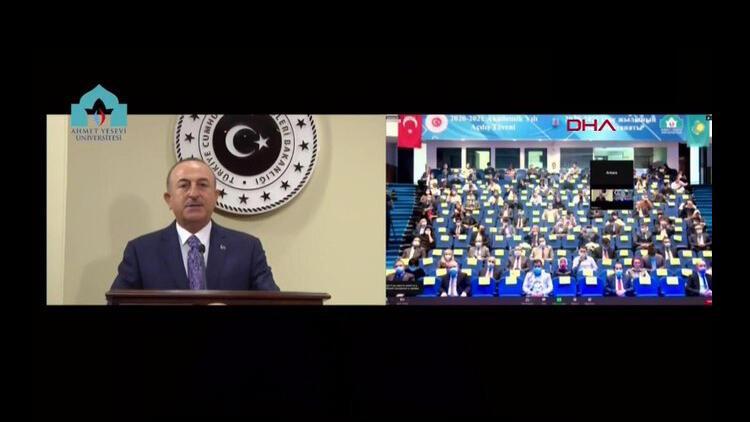Son dakika... Bakan Çavuşoğlu: Bazı aktörler, zalim ile mağduru aynı kefeye koyuyor