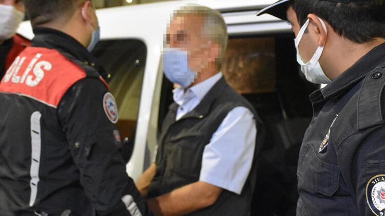Sivas'ta iğrenç olay! Tutuklandı...