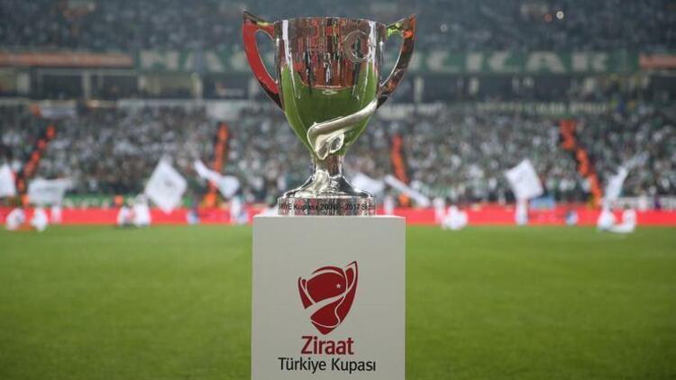 Ziraat Türkiye Kupasında ikinci tur eşleşmeleri ve maç programı belli oldu