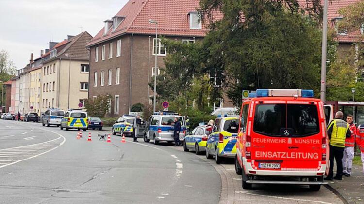 Münster Cezaevi'nde rehine krizi
