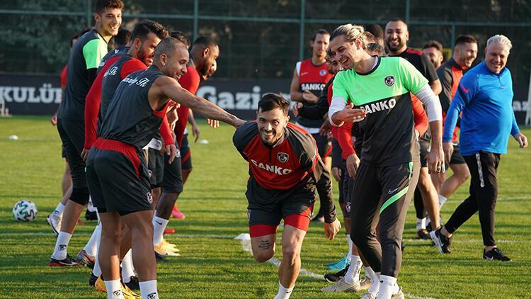Gaziantep FK'de Antalyaspor maçı hazırlıkları