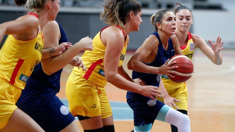 Son Dakika Haberi   Hatay Büyükşehir Belediyespor Kadın Basketbol Takımı'nda 3 kişi Kovid-19'a yakalandı