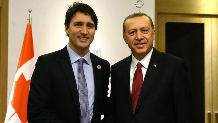 Son dakika haberi: Cumhurbaşkanı Erdoğan,  Justin Trudeau ile telefonda görüştü