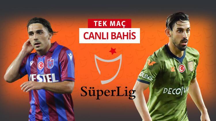 Süper Lig'de haftanın maçında Trabzonspor, Başakşehir'i konuk edecek! Öne çıkan iddaa tercihi...