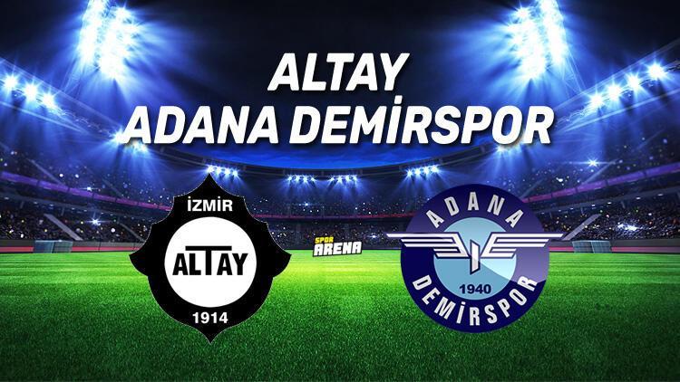 Altay Adana Demirspor maçı ne zaman, saat kaçta, hangi kanalda?