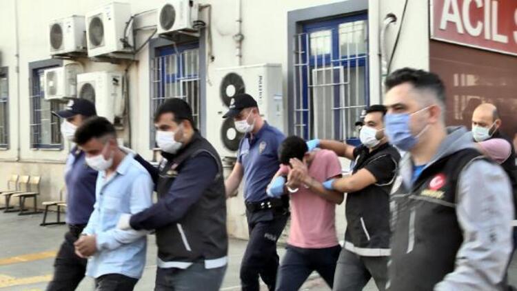 Uyuşturucu satıcılarına şafak operasyonu: 19 tutuklama