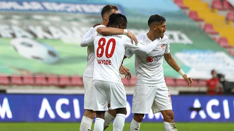 Kayserispor 1-3 Sivasspor