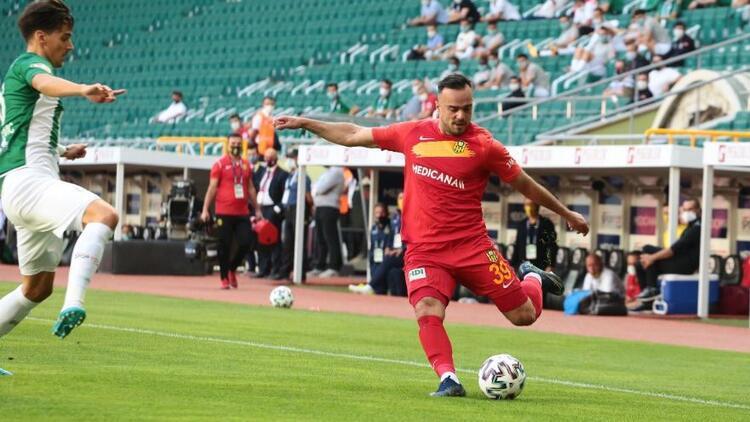 Konyaspor 1-1 Yeni Malatyaspor (Maçın özeti)