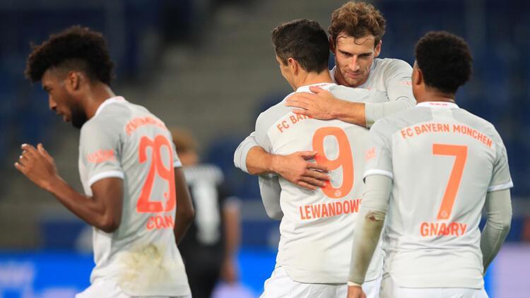 Bayern Münih, deplasmanda Arminia Bielefeld'i 4-1 yendi