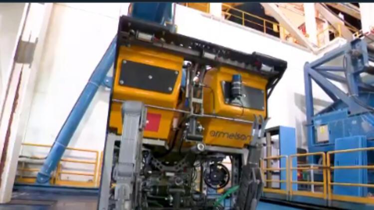 Son dakika... Bakan Dönmez: Yerli su altı robotu Kaşif görevine başladı