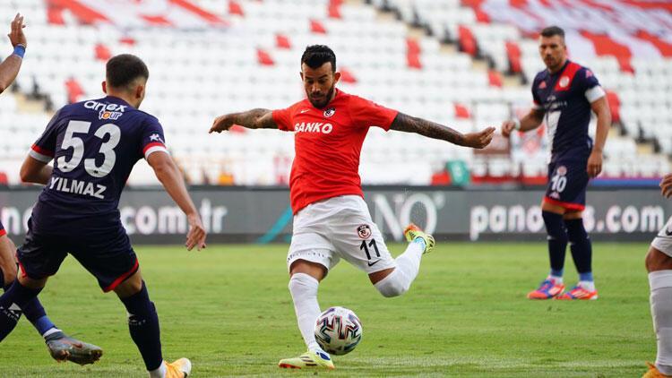 Antalyaspor 1-1 Gaziantep FK (Maçın özeti ve goller)