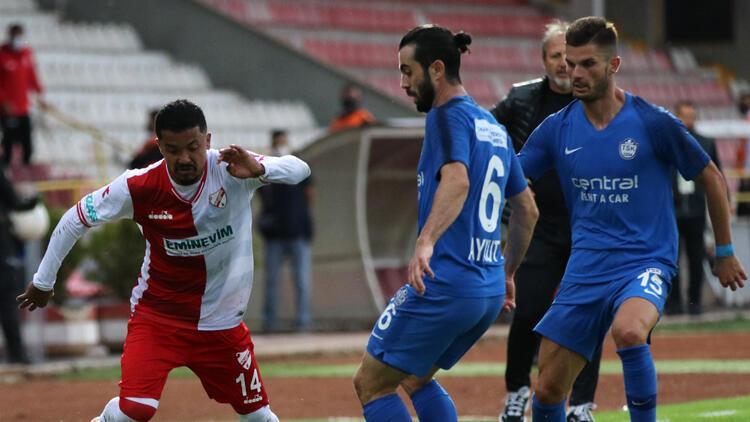 TFF 1. Lig: Boluspor: 1 - Tuzlaspor A.Ş.: 2