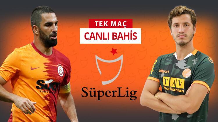 Galatasaray kötü gidişi durdurmak istiyor! Alanyaspor karşısında galibiyetlerine iddaa'da...