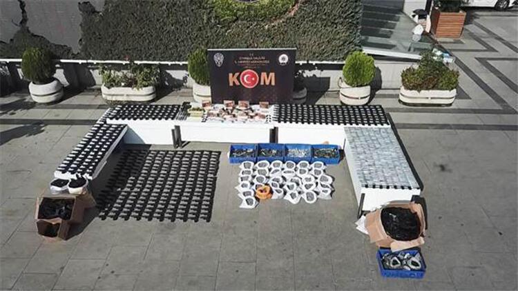 Başakşehir'de silah imalathanesine operasyon