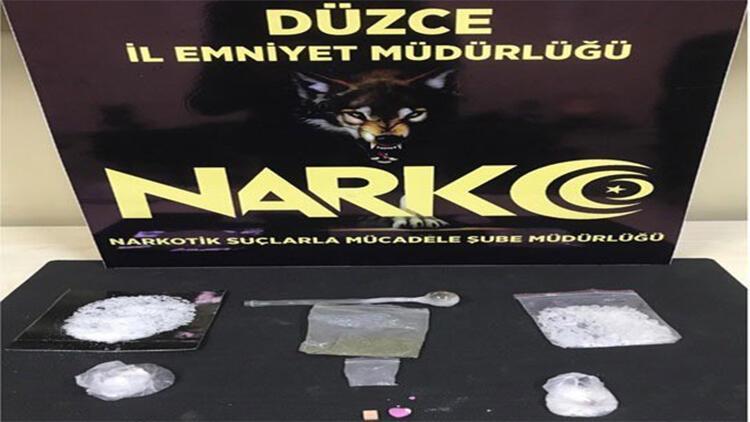 Düzce'de uyuşturucu operasyonu: 2 tutuklu