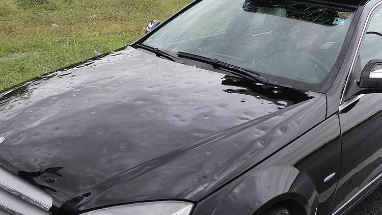 Dolu yağışlarına da kaskoya da dikkat edin!