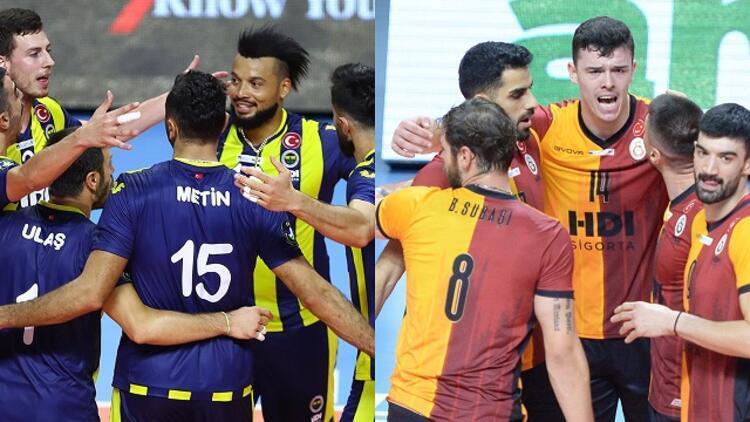 Filede derbi heyecanı! Efeler Ligi'nde Fenerbahçe ile Galatasaray...