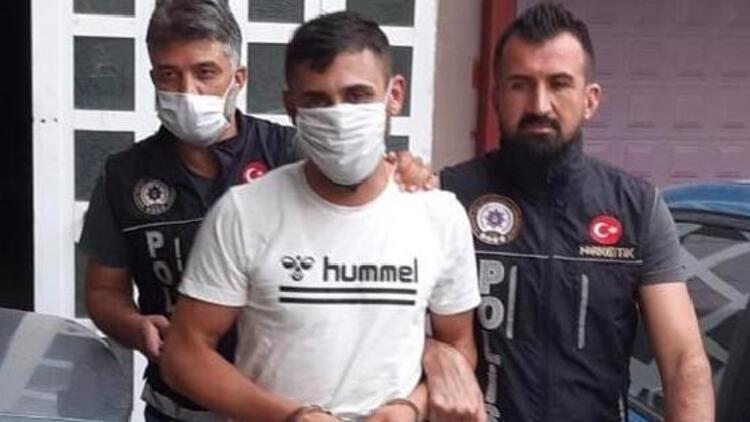 Nikah günü uyuşturucu ile yakalandı, tutuklandı