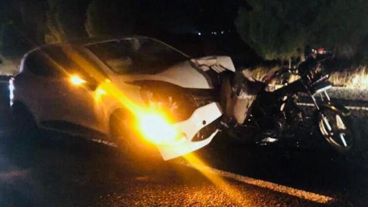 Feci kaza! Baba ve 3 yaşındaki oğlu öldü…