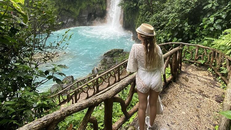 Yeşil ve mavi güzel: Kosta Rika