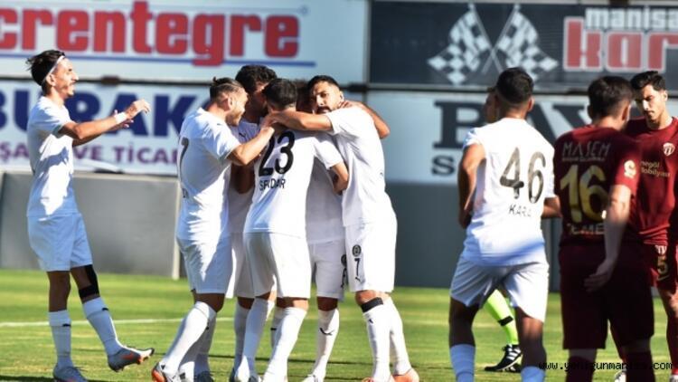 Misli.com 2. Lig Beyaz Grup'ta Manisa FK ilk kez takıldı