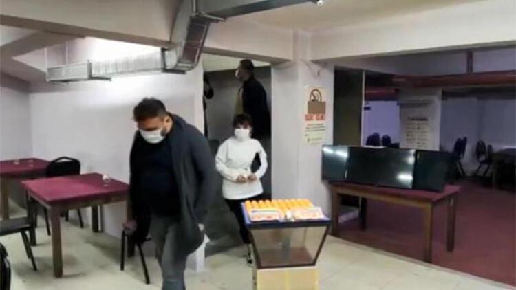 Eskişehir'de kumar oynarken yakalanan 34 kişiye 148 bin lira ceza