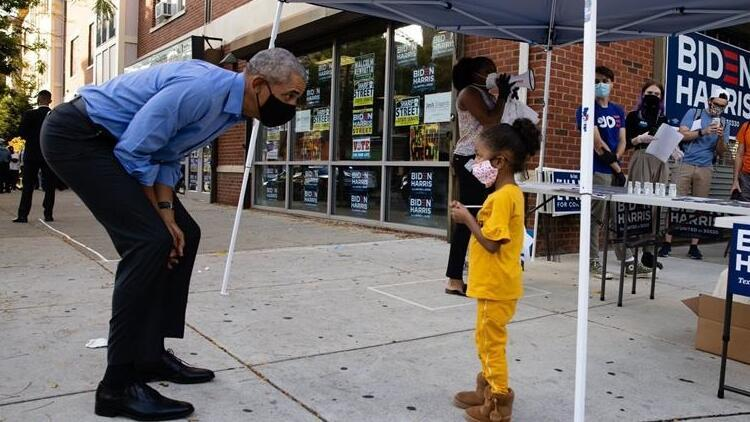 Obama, Joe Biden için sahaya inerek oy istedi