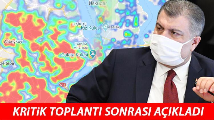 Son dakika haberi: Sağlık Bakanı Fahrettin Koca: İstanbul'da vaka sayısı Türkiye genelinin %40'ına ulaştı