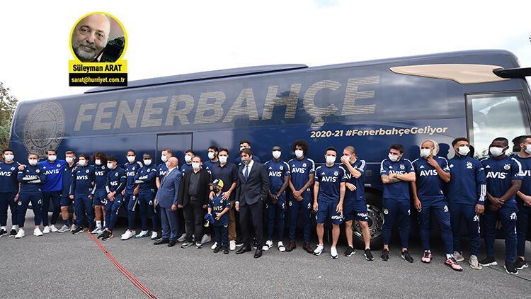 Son Dakika Haberi   Fenerbahçe'nin takım otobüsü törenine Erol Bulut damga vurdu!