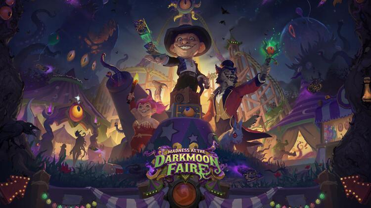 Darkmoon Panayırı Dehşeti'yle Hearthstone'a dönüyorlar