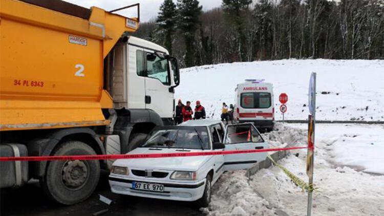 11 aylık Baran'ın öldüğü kazada kamyon sürücüsüne 4 yıl hapis