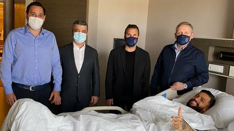 Son dakika | Başakşehirli Junior Caiçara ameliyat oldu!