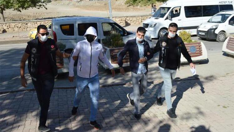 Elazığ'da uyuşturucu operasyonuna 2 gözaltı