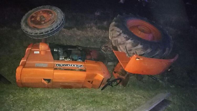 Balıkesir'de traktörle otomobil çarpıştı: 1 ölü