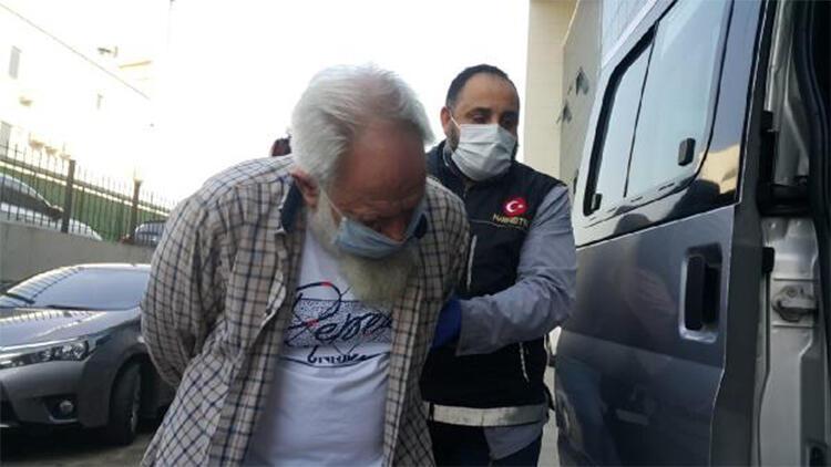70 yaşında, uyuşturucu ticaretinden tutuklandı