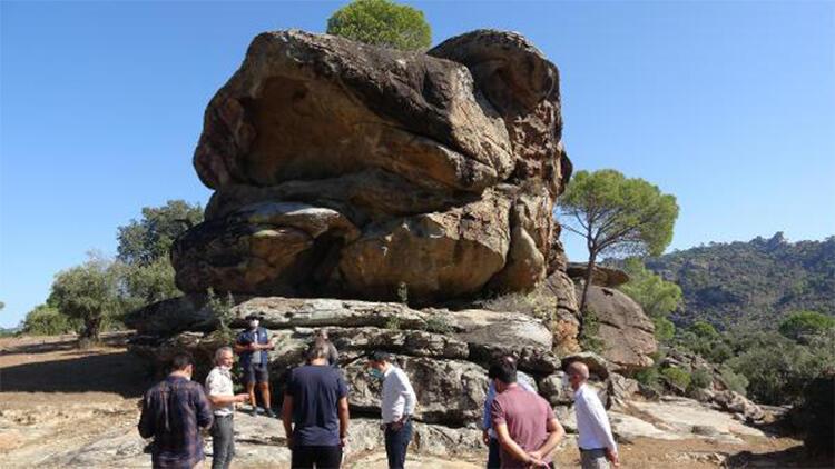 Latmos'un 12 bin yıllık kaya resimleri dünyaya açılacak