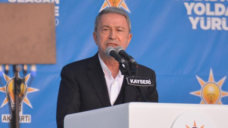 Milli Savunma Bakanı Akar: S-400, 83 milyon halkımızın güvenliği için zorunluluktur