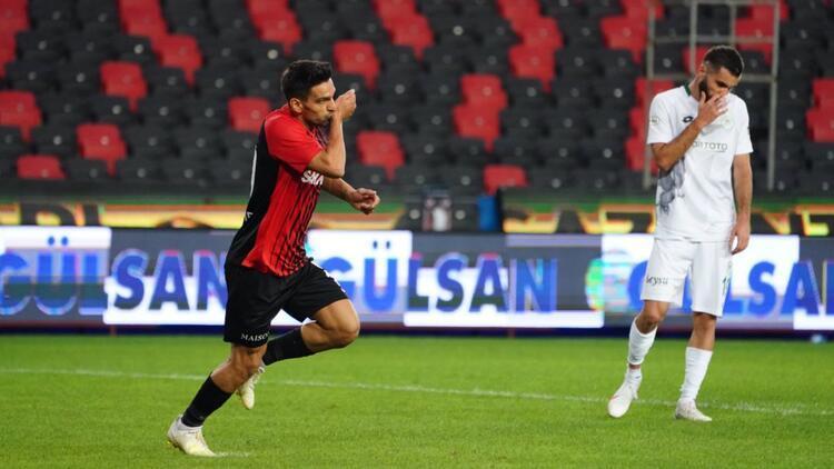 Gaziantep FK 1-0 Konyaspor - Maçın özeti ve golleri