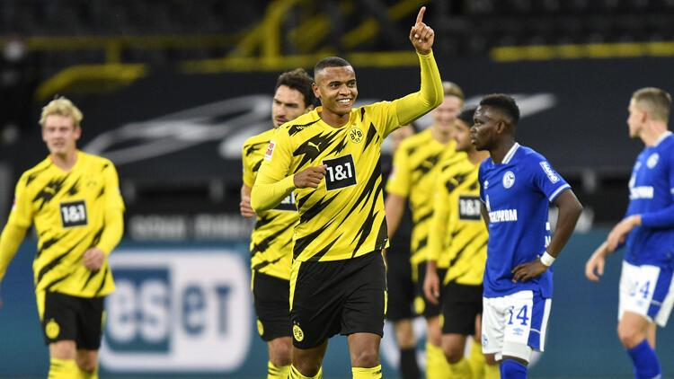 Borussia Dortmund sahasında Schalkeyi rahat geçti