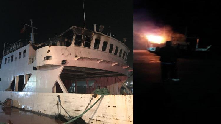 Son dakika haberi:  İstanbul'da korkutan gemi yangını!
