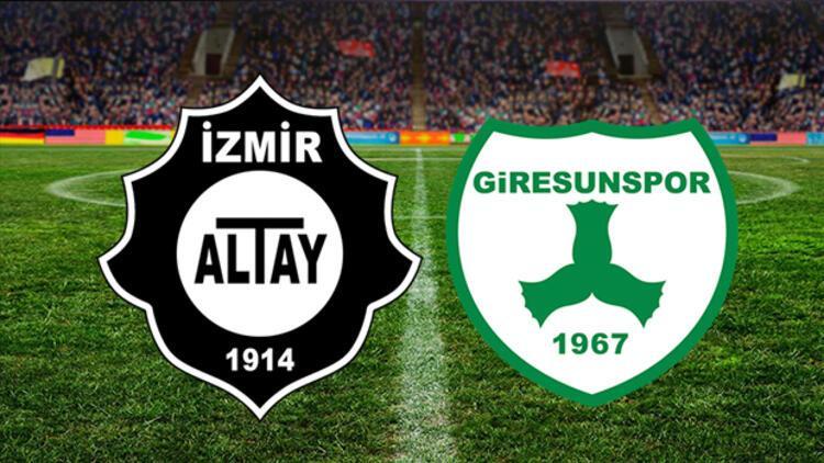 Altay - Giresunspor maçı ne zaman? Altay - Giresunspor maçının tarihi ertelendi