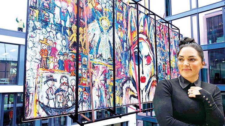 Türk ressamdan en büyük tablo