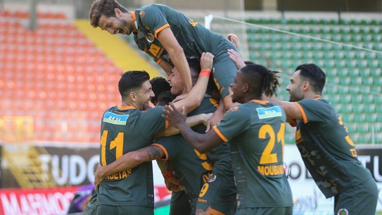 Alanyaspor 2-0 Fatih Karagümrük (Maçın özeti)