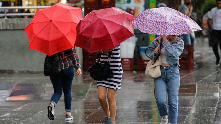 Son dakika haberi: Meteoroloji'den 2 ile sağanak yağış uyarısı