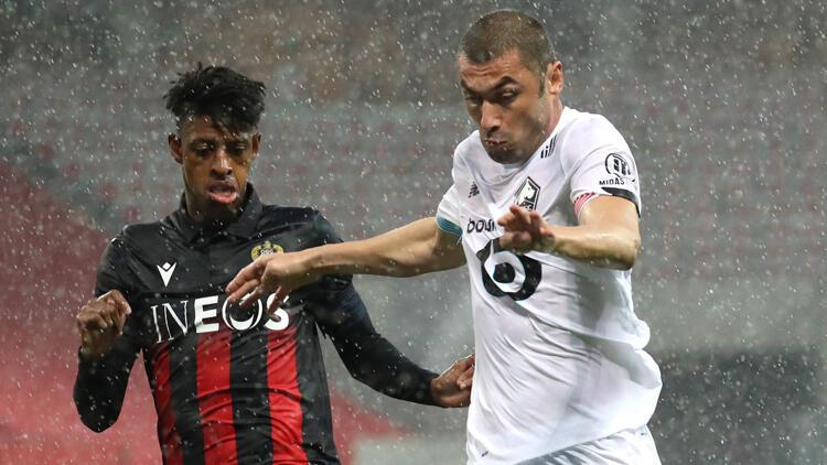 Nice 1-1 Lille (Maç sonucu ve özeti)